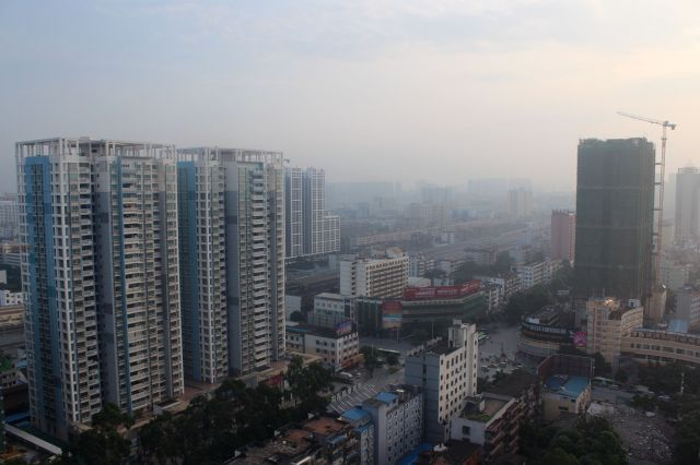 Nanning from the 24th floor