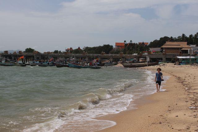 Walking on Ko Samui Beaches
