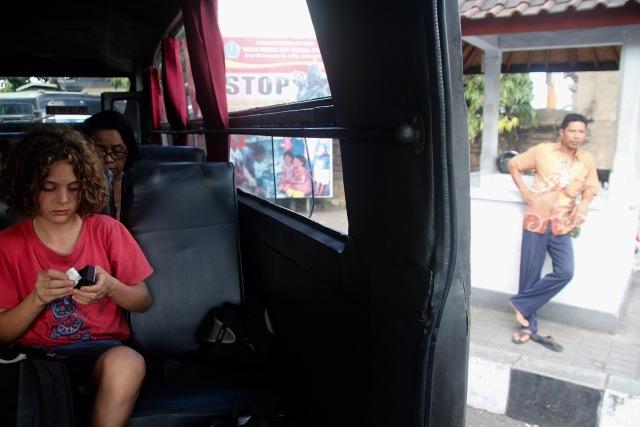 Leaving Denpasar